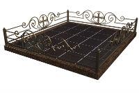 Ограды кованные, с элементами ковки