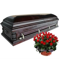 Двухкрышечные красивые гробы