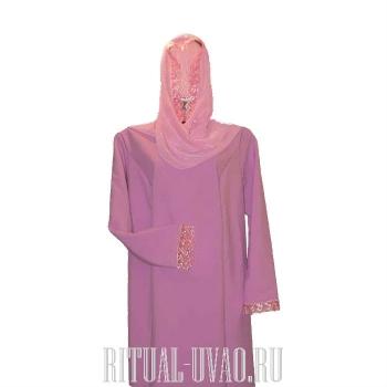 Платье с шарфиком в комплекте