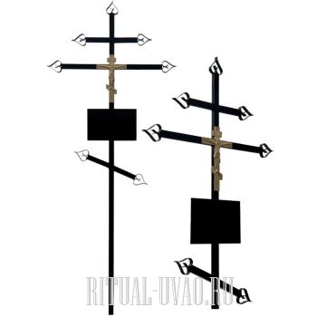 Поменять два креста на могиле недорого
