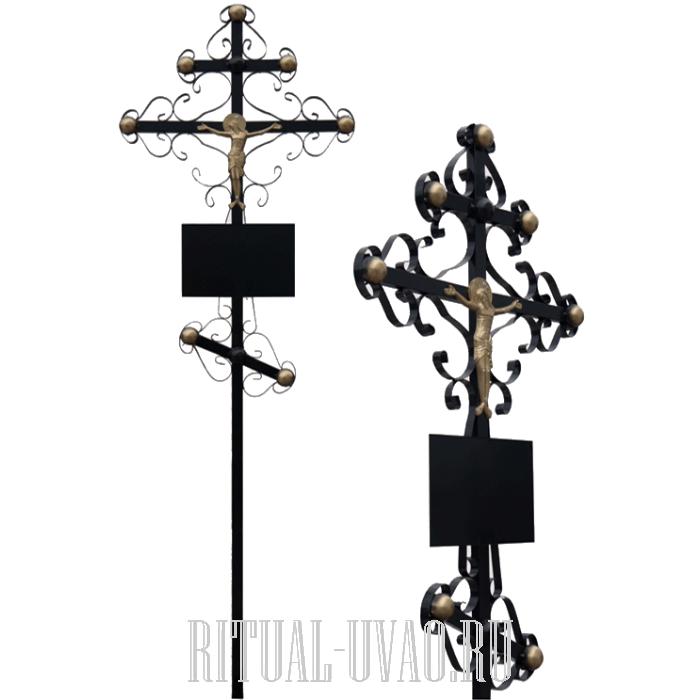 Крест на могилу из металла купить гранитная мастерская цены феникс