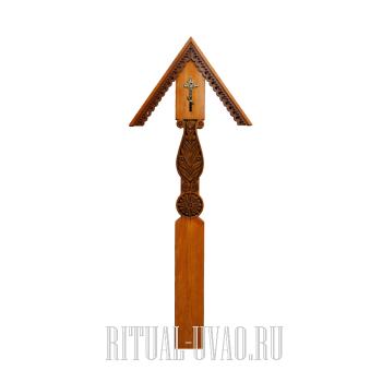 """Крест """"Резной Православный"""""""