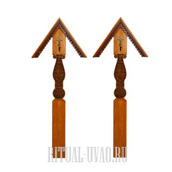 Заменить два креста на новые