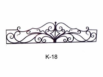 Кованные ограды на кладбище