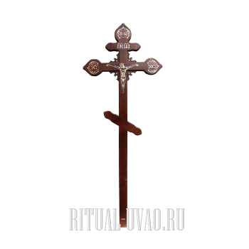 """Крест """"С фигурной обработкой"""""""