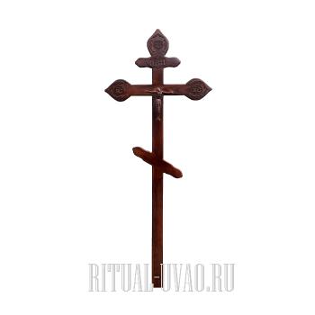 """Крест """"Фигурный Темный"""""""