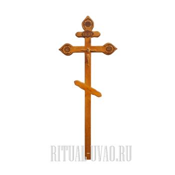 """Крест """"Фигурный Светлый"""""""