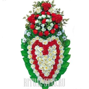 """Вип венок на похороны """"Слеза любви"""""""