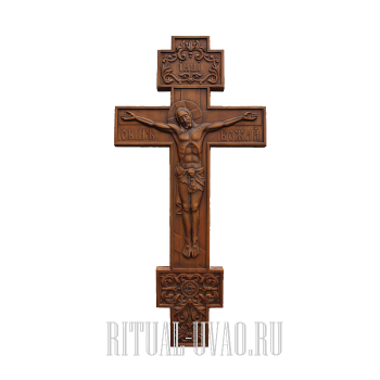 """Крест """"Резной Прямой"""""""