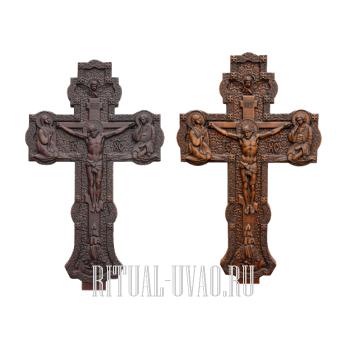 Заменить кресты на могиле на резные