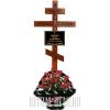 """Обновление могилы - набор № 4 с крестом """"Древо жизни"""""""