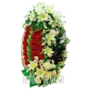 Чудный элитный венок на похороны или годовщину