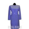 Светло-сиреневое платье на похороны