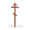 """Крест """"Вечная память"""" светлый сосна"""