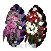 Набор для похорон - комплект из двух венков 120 см.