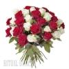 Розы живые