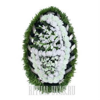 Венок искусственный на обряд похорон Зима