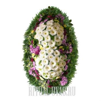 Венок для ритуала похорон