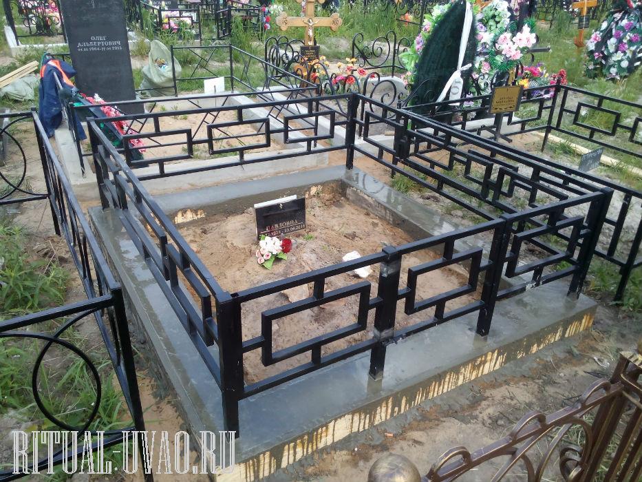 Бетонный цоколь на могилу своими руками 51