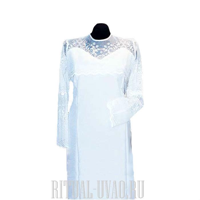 Выкройка платья на погребение