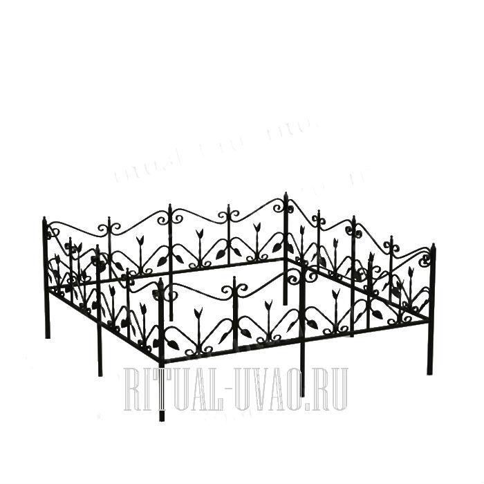 Ограда на кладбище своими руками из подручных материалов 50