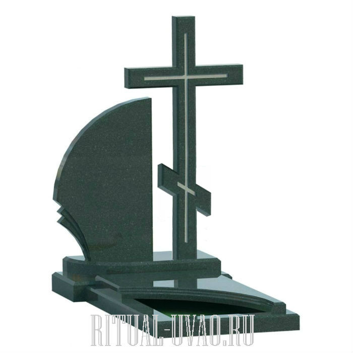 Памятник крест - бабушке, дедушке