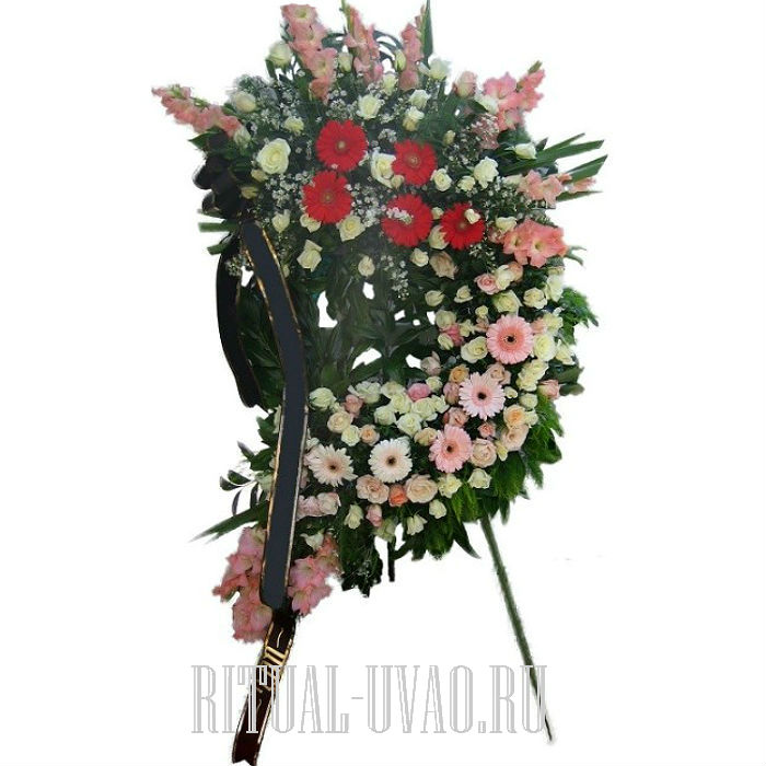 Живые цветы. Похоронные венки.