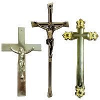Крест, распятье на гроб