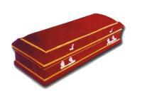 Гробы обитые тканью - бархат
