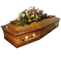 Цены на лакированные гробы