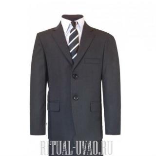 Серый мужской комплект на похороны (вещи в морг)