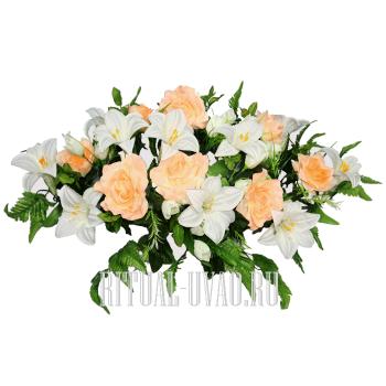 Флоретка - венок для кремации на гроб