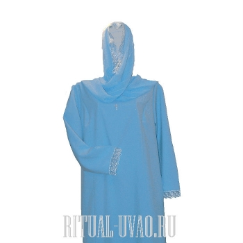 Похоронное платье и шарф в тон