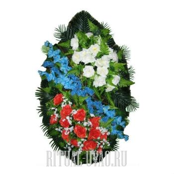 """Венок на похороны """"Благодарность ветеранам"""""""
