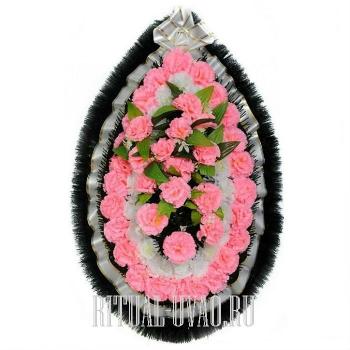 Ритуальный веночек на могилу на день памяти