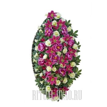 Трогающий венок на похороны