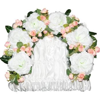 Элитная гирлянда из цветов