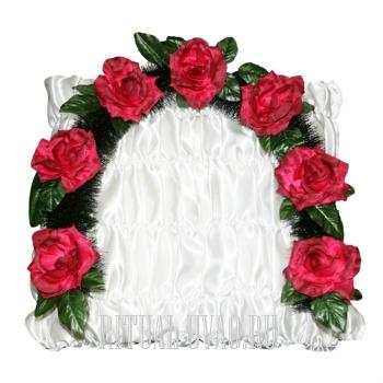 Веночек из Роз в голову в гроб