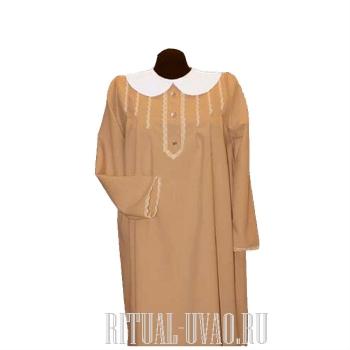 Платье на похороны из габардина