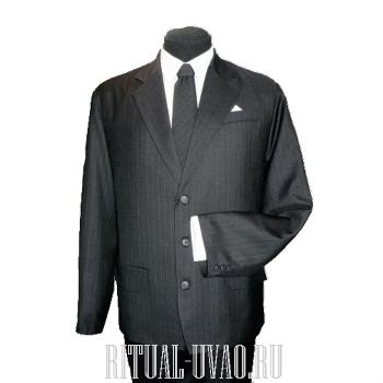 Похоронный мужской комплект серого цвета