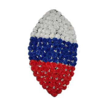 """Венок трехцветный """"Российский флаг"""""""