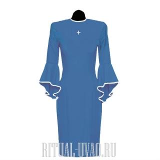 Похоронное платье с крестиком