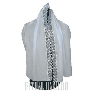 Собранный гарнитур - белье похоронное для женщины