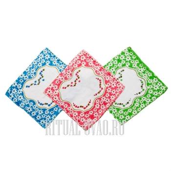 Хлопчато-бумажные носовые платки для усопших