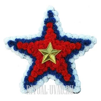"""Венок """"Пятиконечная звезда"""""""