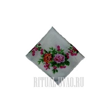 Стандартный комплект женского похоронного белья