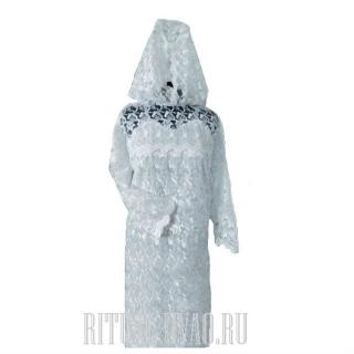 Комплект. Платье для невесты на похороны
