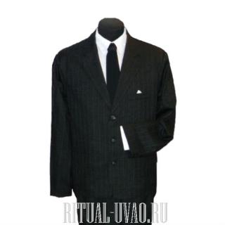Похоронный мужской комплект черного цвета