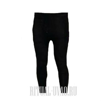 Мужские кальсоны черные белье для умерших