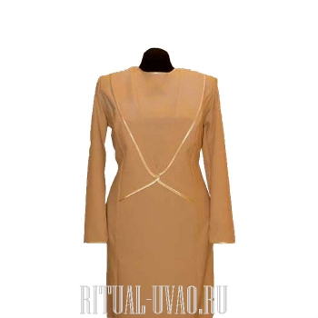 Платье фасона строгий костюм